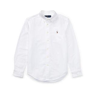 Junior Boys' [8-20] Cotton Oxford Sport Shirt