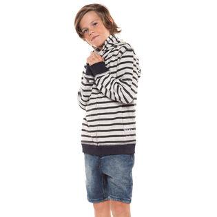 Junior Boys' [8-16] Stripe Zip Hoodie