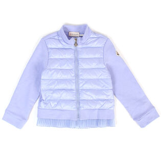 Girls' [4-6] Pleated French Terry Jacket