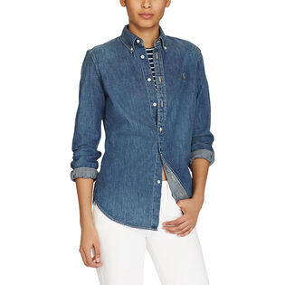 Women's Custom Fit Denim Shirt