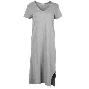 Women's V-Neck Tee Dress