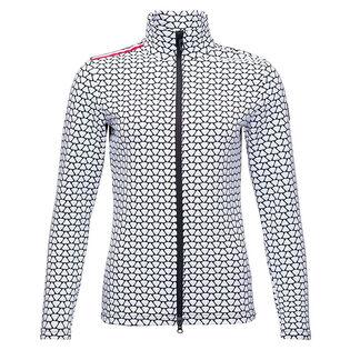 Women's Print Hiver Full-Zip Sweater