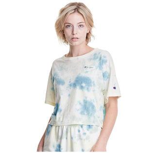 Women's Sunwash Dye Cropped T-Shirt