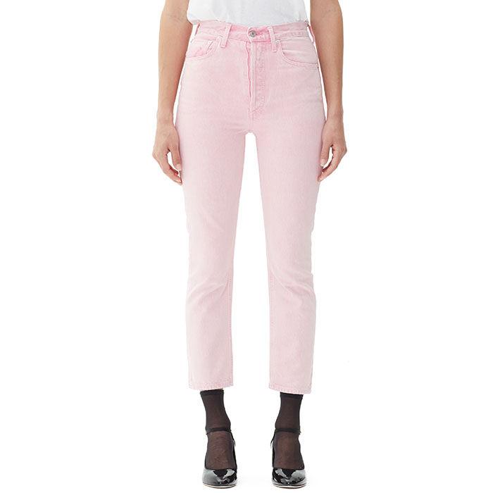 Women's Riley Hi Rise Straight Crop Jean