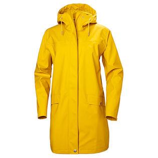 Women's Moss Raincoat