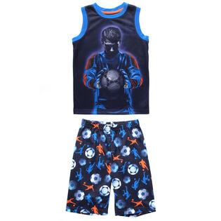 Junior Boys' [7-14] Soccer Two-Piece Pajama Set