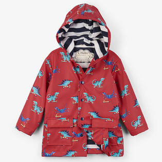 Boys' [2-6] Scooting Dinos Raincoat