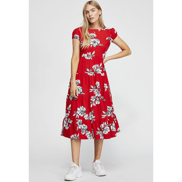 Women's Rita Tiered Midi Dress