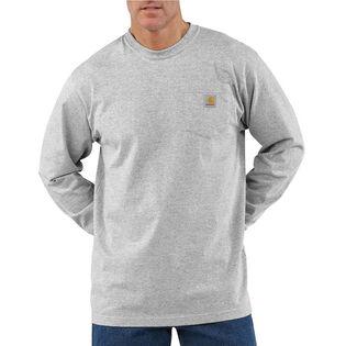 Men's Workwear Long Sleeve Pocket T-Shirt