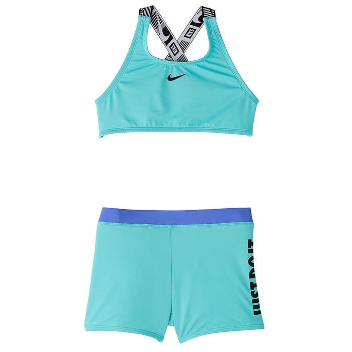 Maillot de bain deux pièces JDI Crossback Sport pour filles juniors [7-16]