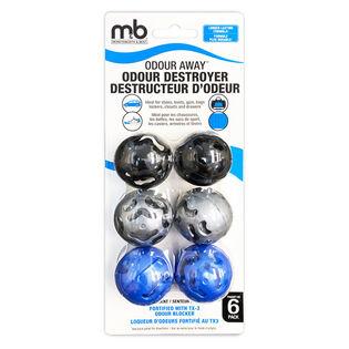 Odour Away Sport Balls (6 Pack)