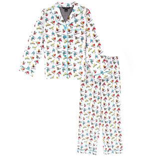 Ensemble pyjama deux pièces Ski Birds pour filles juniors