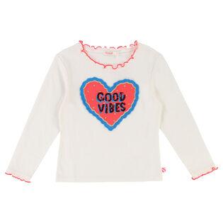 Girls' [3-6] Good Vibes T-Shirt