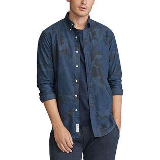 Men's Classic Fit Camo Oxford Shirt
