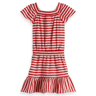 Junior Girls' [8-16] Striped Jersey Dress
