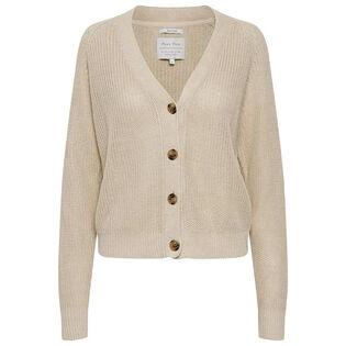 Women's Linen Knit Cardigan