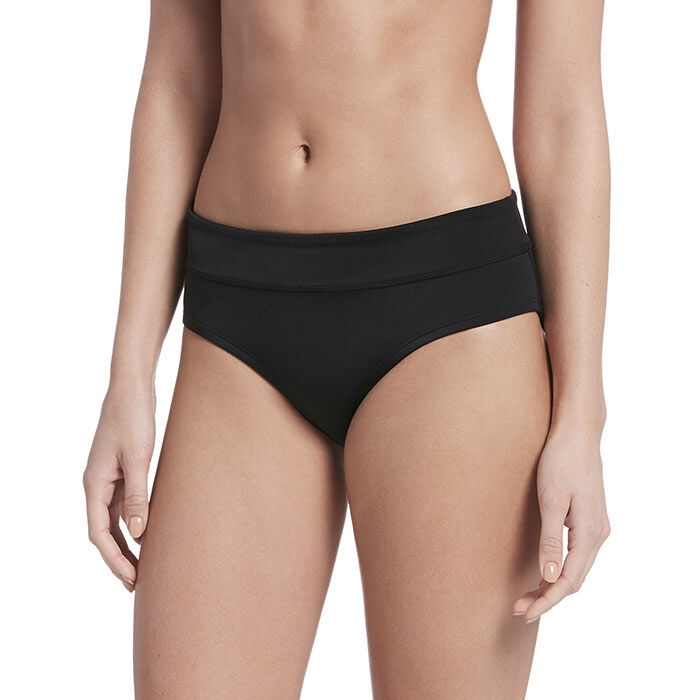 Women's Solid Full Bikini Bottom