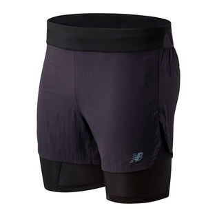 Short 2 en 1 Popular Brooklyn Half Q Speed pour hommes