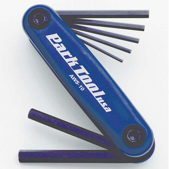 Fold-Up Hex Wrench Set