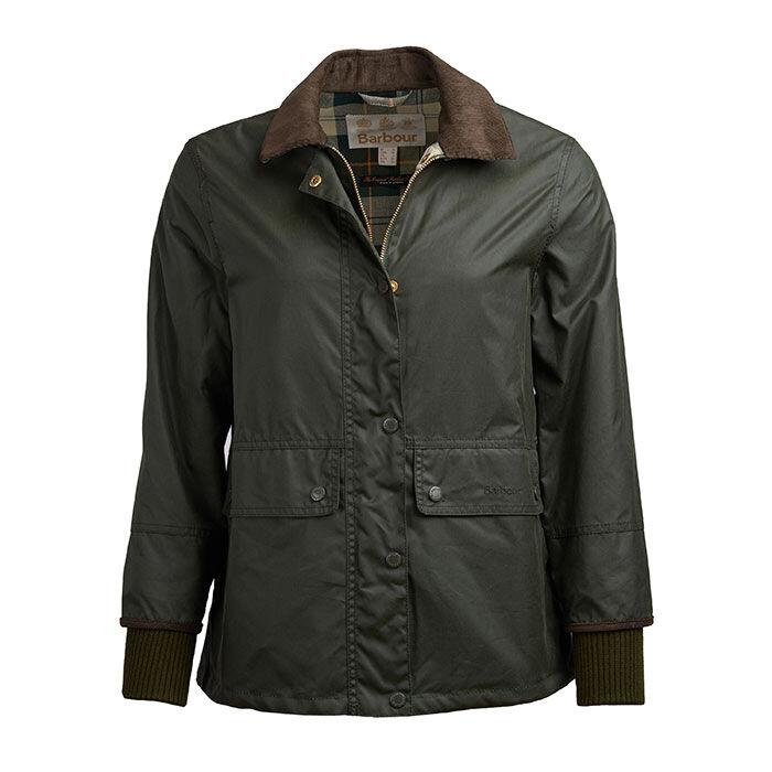 Women's Tawny Waxed Cotton Jacket