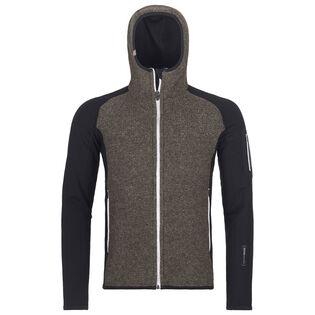 Veste à capuchon en tricot Fleece Plus Classic pour hommes