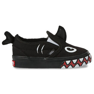 Babies' [4-10] Shark Week Slip-On V Shoe