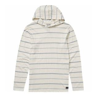 Men's Die Cut Stripe Pullover Hoodie
