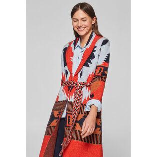Women's Ikat Long Cardigan