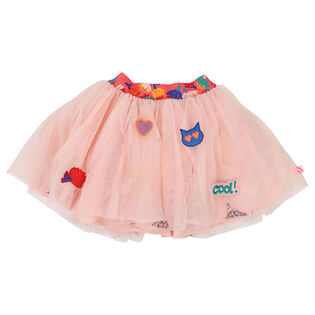 Girls' [3-5] Glitter Tulle Skirt