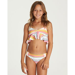 Junior Girls' [7-14] Sunny Song Flutter Two-Piece Bikini