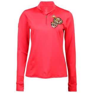 Women's Quarter-Zip Patch Top