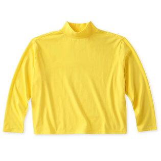 Women's Cropped Mock T-Shirt