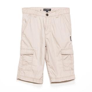 Boys' [4-7] Twill Cargo Short