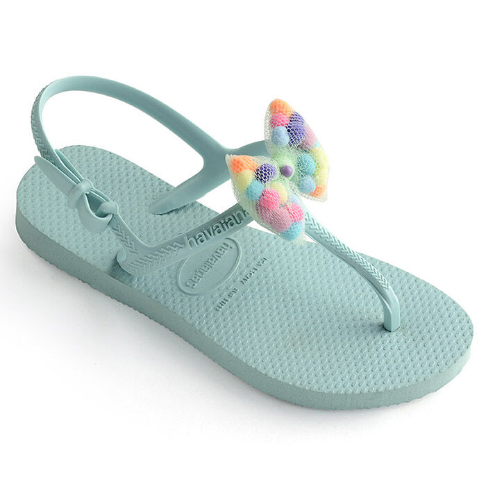 Juniors' [11-4] Freedom Slim Pompom Sandal