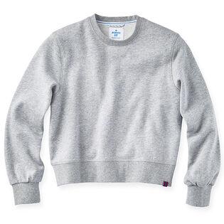 Women's Cropped Crew Fleece Sweatshirt