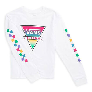 Junior Girls' [8-16] Rainbow Long Sleeve T-Shirt