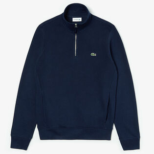 Men's Stand-Up Collar Cotton Sweatshirt