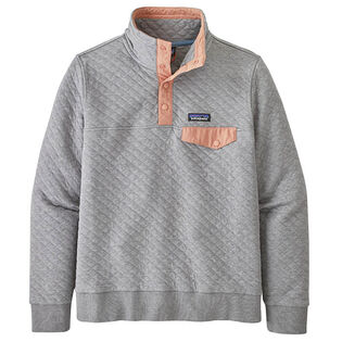 Women's Organic Cotton Quilt Snap-T® Pullover Sweater