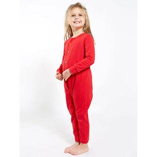 Pyjama Arborist Rouge une pièce pour enfants [3-10]