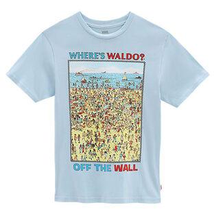 T-shirt Où est Charlie? Beach pour garçons [3-6]