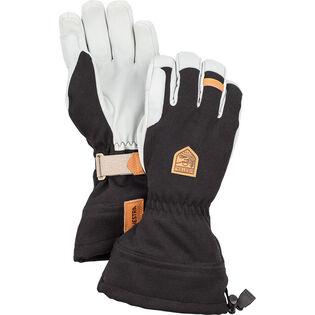 Men's Army Leather Patrol Gauntlet Glove