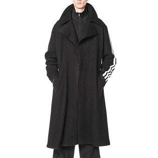 Manteau en laine ajusté pour hommes