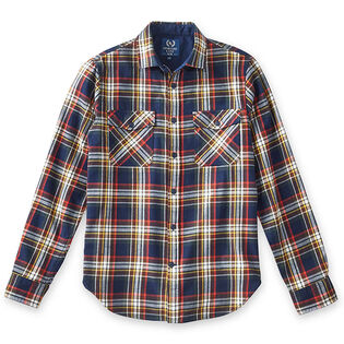 Men's Woven Flannel Flap Pocket Shirt