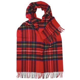 Women's Lambswool Tartan Wrap Scarf