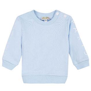 Baby Boys' [6-18M] Sleeve Logo Sweatshirt