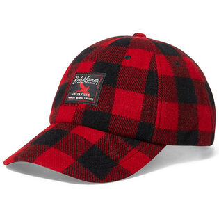 Men's Buffalo Check Flannel Cap