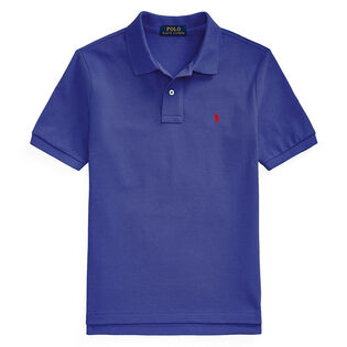 Junior Boys' [8-20] Cotton Mesh Polo