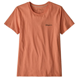 Women's Free Hand Fitz Roy Organic Cotton T-Shirt