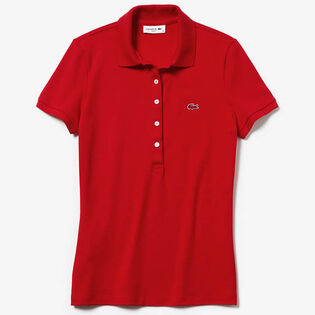 Women's Classic Short Sleeve Pique Polo Shirt