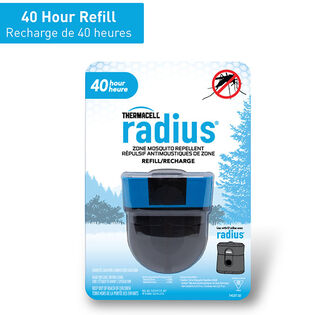 Recharge chasse-moustiques Radius Zone (40 heures)